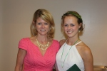 Leigh and Morgan - Ursuline Graduation