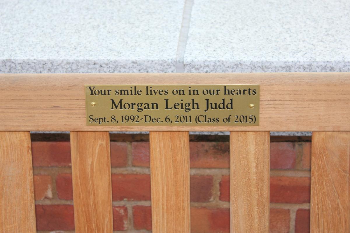 Memorial Fund Plaque