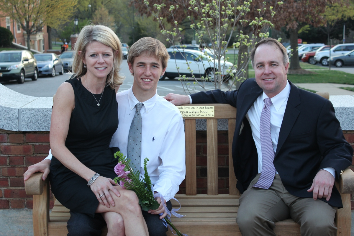 Leigh, Michael and Jerry at Wake Forest