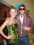 Ursuline Date Party with Michael - Tinkerbell and Justin Bieber