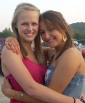 Morgan and Cecily at Rascal Flatts Concert