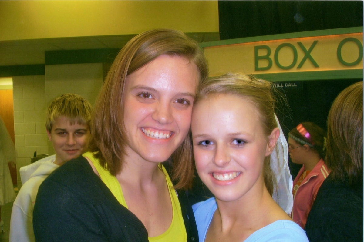 Kristin and Morgan